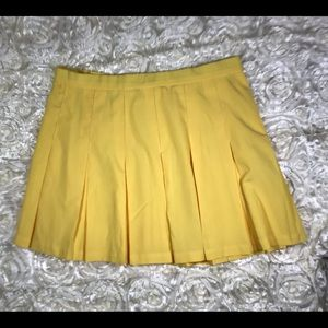 Lily's of Beverly Hills Tennis Skirt Yellow SZ 16